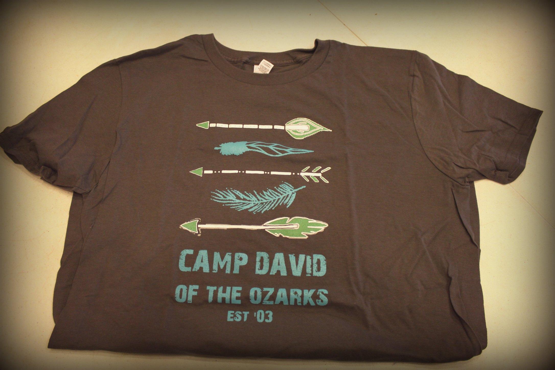 arrow shirt camp david of the ozarks. Black Bedroom Furniture Sets. Home Design Ideas